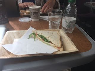Cross Country Trains still serves sandwiches on plates in First Class. Now we just need wine ...