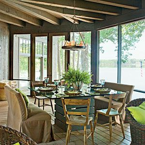 Naturally Inspired Georgia Lake House | Natural Furniture | SouthernLiving.com