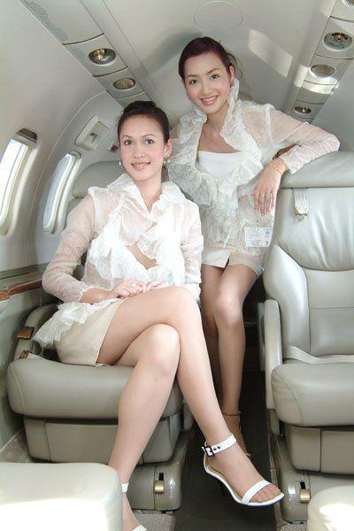 Thai Flight Attendants.