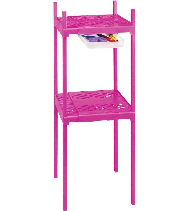 Adjustable Double Locker Shelf in Locker Organizers