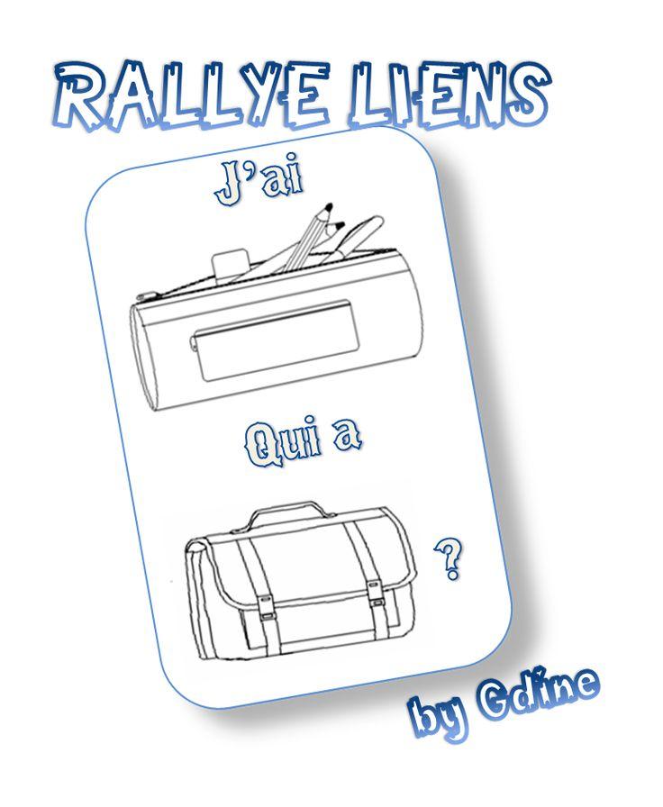 """Rallye-lien """"J'ai...qui a... ?"""" - Lire des syllabes simples - Zedra - Dans ma valise pédagogique..."""