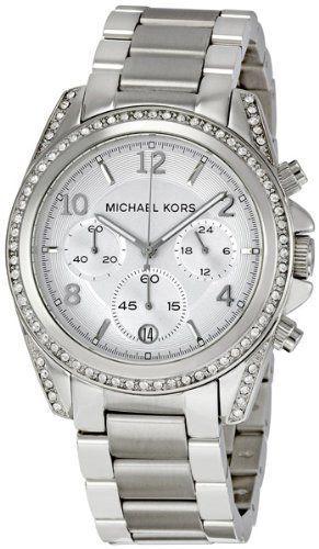 Michael Kors Women's MK5165 Silver Blair Watch $181.79 (save $43.21)
