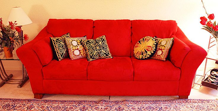 Elegant Red Couch With Pillows ~ http://topdesignset.com/french-door-hardware-for-your-mighty-house/