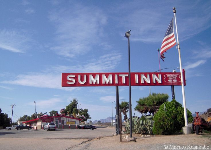 """ Summit Inn "" Cajon Pass California  "" Route 66 on My Mind "" Route 66 blog ; http://2441.blog54.fc2.com/ https://www.facebook.com/groups/529713950495809/ http://route66jp.info/"