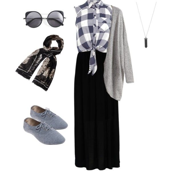 Hijabis style by iffahsofiyyah on Polyvore featuring polyvore, fashion, style, Miss Selfridge, Hallhuber, Wet Seal, Karen Kane, Alexander McQueen and Wood Wood