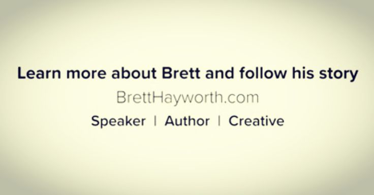 Helping people is my story! #speaker #author #entrepreneur #story #familyman #book #tv #movie #filmproducer #screenwriter #actor  Backwards, How to Live Forward @amazon #bretthayworth