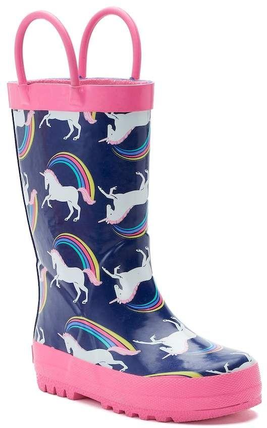 Carter's Nessa Toddler Girls' Waterproof Rain Boots #ad