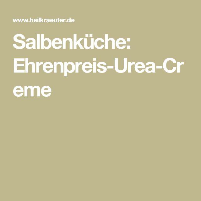 Salbenküche: Ehrenpreis-Urea-Creme