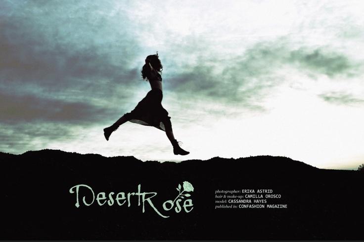 """Erika Astrid """"Desert Rose""""  http://www.confashionmag.pl/webitorial/desert-rose.html"""