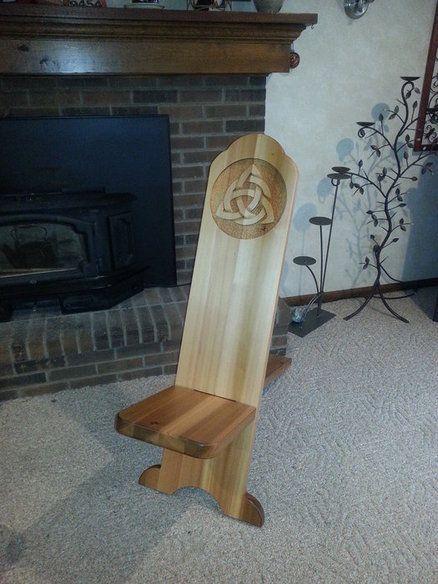 Lady Ellen viking chair Lumberjocks