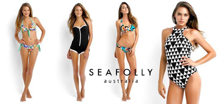 Plavky Seafolly mají prostě nápad a nebojí se barev! Její designéři mají rádi retro, vymýšlí nové nevšední střihy a zdokonalují již ověřené střihy. Nabízí luxusní plážové doplňky mezi nimiž kromě šatů, tunik a velkých šátků, nechybí ani šortky,overaly a třeba i klobouky a tašky. V Seafolly plavkách budete mít sladěné prostě vše!