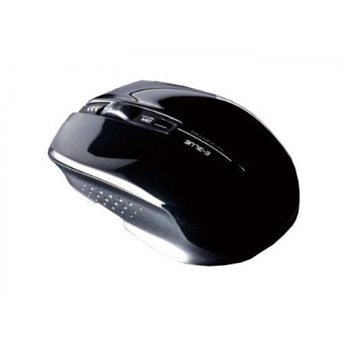 E-Blue EMS119BK Mayfek Black Wireless Computer Mouse for All Users and Applications