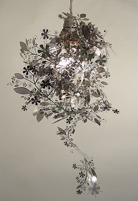 beautiful and simple garland light by Tord Boontje