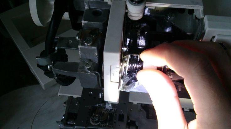 Pfaff Hobby 1132 настройка верхнего натяжителя (ремонт)