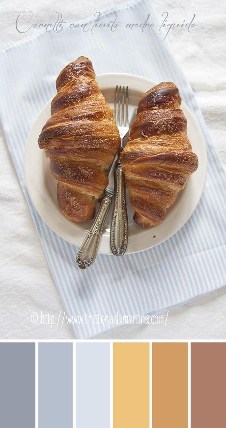 Croissant con lievito madre liquido