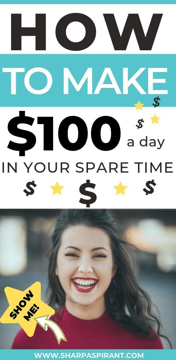 Earn Money from Home Online (11 Ways to Make $100/Day – Money Making Ideas