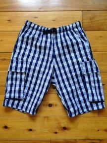 パラカ・ショートパンツ   カーゴパンツスタイル 紺 メンズ M サイズ「8011General Store   ハワイジェネラルストアー 」