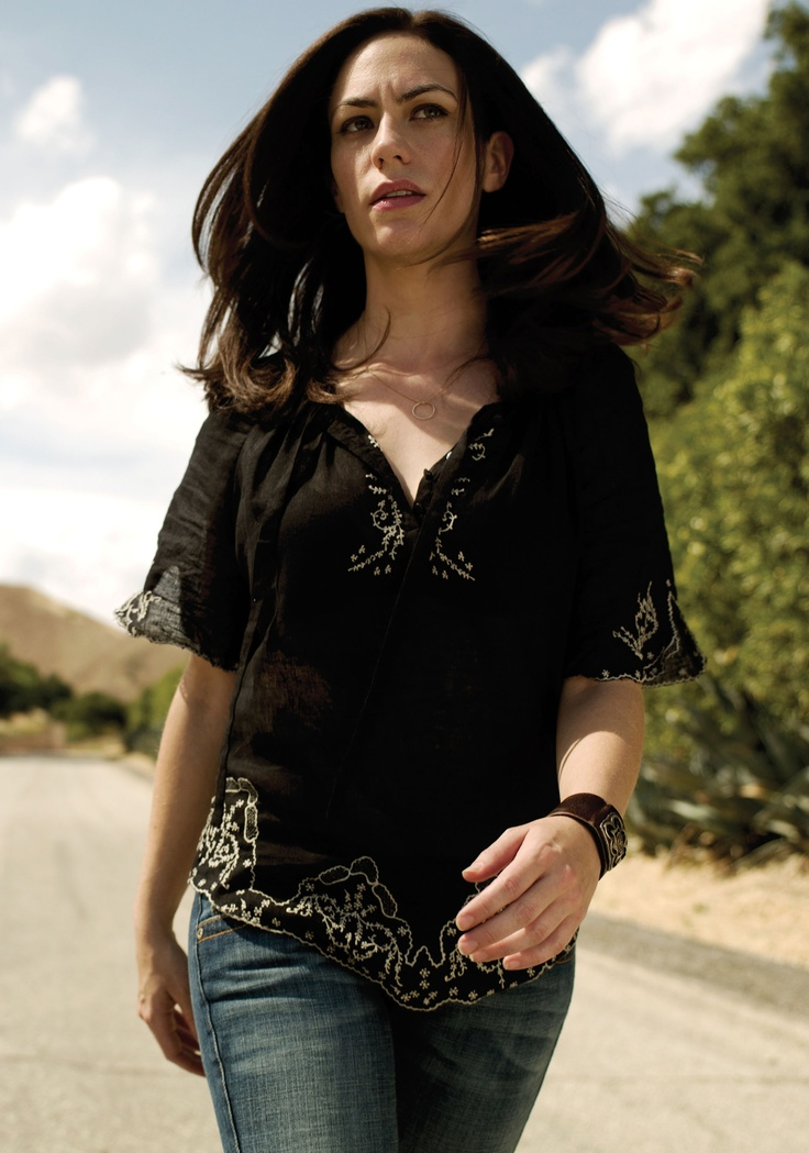 Maggie Siff.... cause I don't have any pins of her yet, and she's a *phenomenal* actress