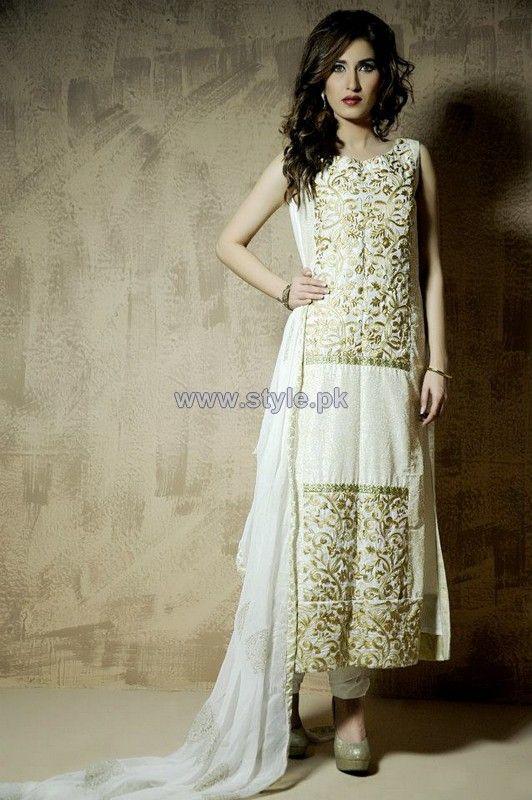 Wajahat Mansoor Winter Dresses 2014 For Women