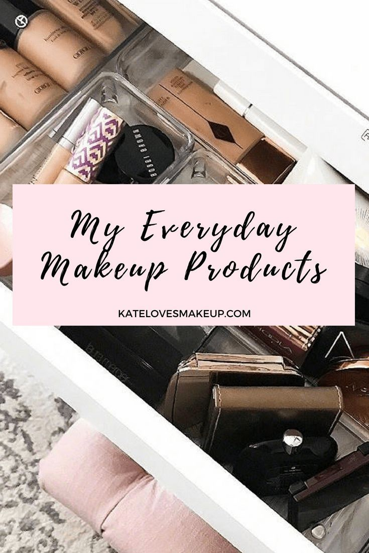 Beauty blogger Kate Loves Makeup shares her everyday makeup products. Click thro…