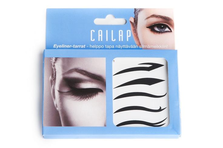 Eyeliner tarroilla luot hetkessä näyttävän silmämeikin!