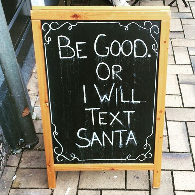 Be Good Or  I Will Text Santa holidays christmas christmas quotes funny christmas quotes cute christmas quotes holiday quotes christmas quotes for friends best christmas quotes christmas quotes with pictures christmas quotes for family christmas quote images christmas quote pictures