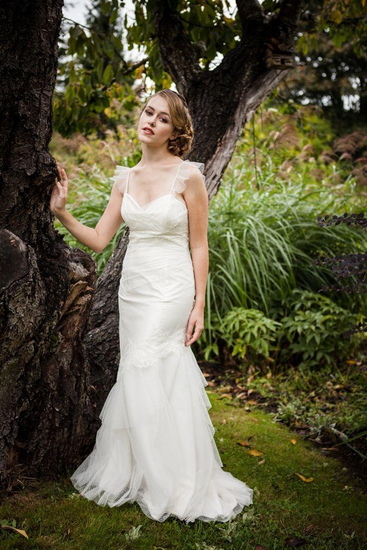 Elizabeth Romantic Low Back Wedding Dress Soft By CicadaBridal