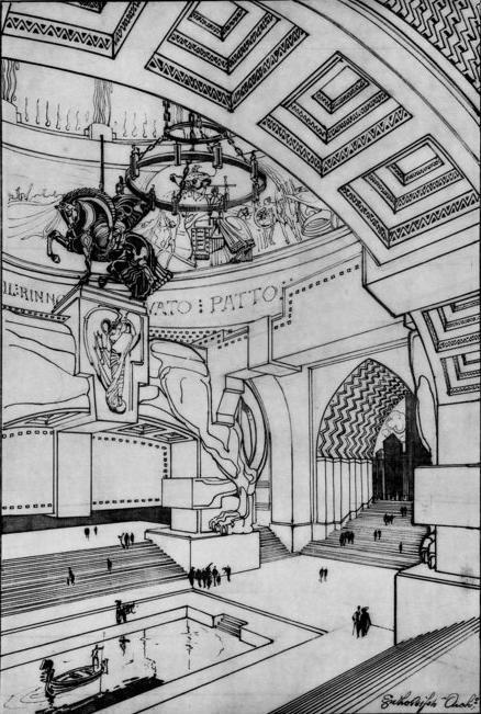 Enzo Bifoli (1882-1965), Italian architect.2