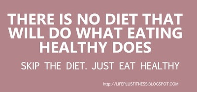 dont't diet, eat heathy.Weights Watchers, Eating Right, Be Healthy, Lifestyle Change, Healthy Eating, Eat Healthy, Healthy Food, Eating Healthy, Weights Loss