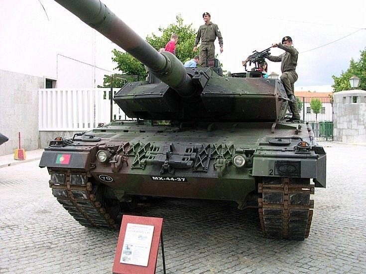 Portuguese Army Leopard