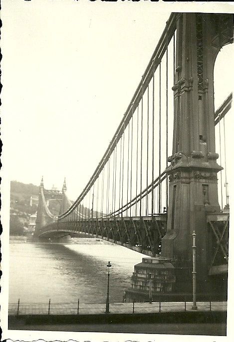 BUDAPEST 1933. Régi Erzsébet-híd