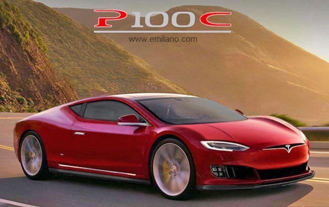 Tesla (Model S) P100 coupe i cabriolet