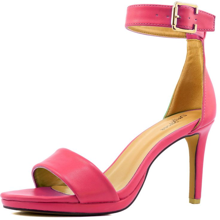 Women's Open Toe Ankle Buckle Strap Platform Evening Dress Casual Sandal Shoes 5: