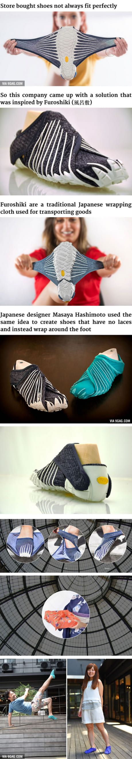 These New Japanese-Inspired Shoes Can Wrap Around Your Feet