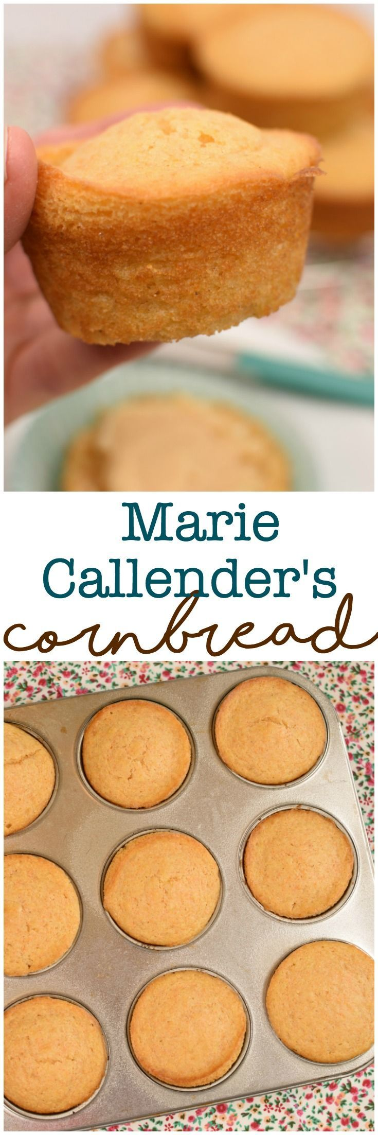 Copycat Marie Callendar's Cornbread is easy to make, you can make it in a cake pan or into muffins, is sweet and moist! Plus learn how to make your own cornmeal!