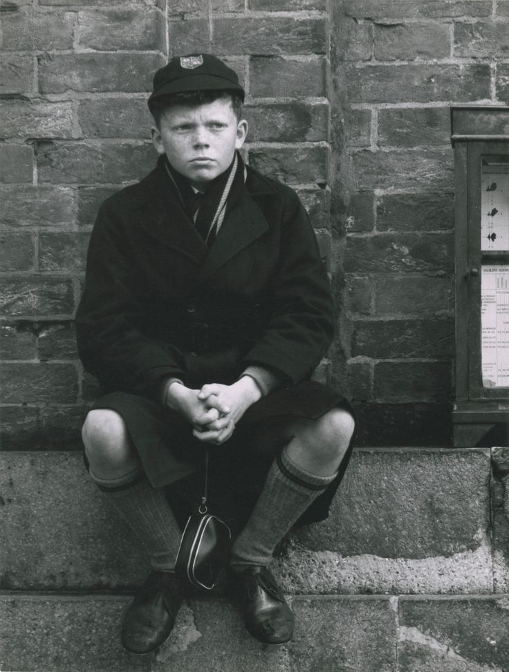 London: school boy, 1964 - Ronald Reis Photographs - Duke Libraries