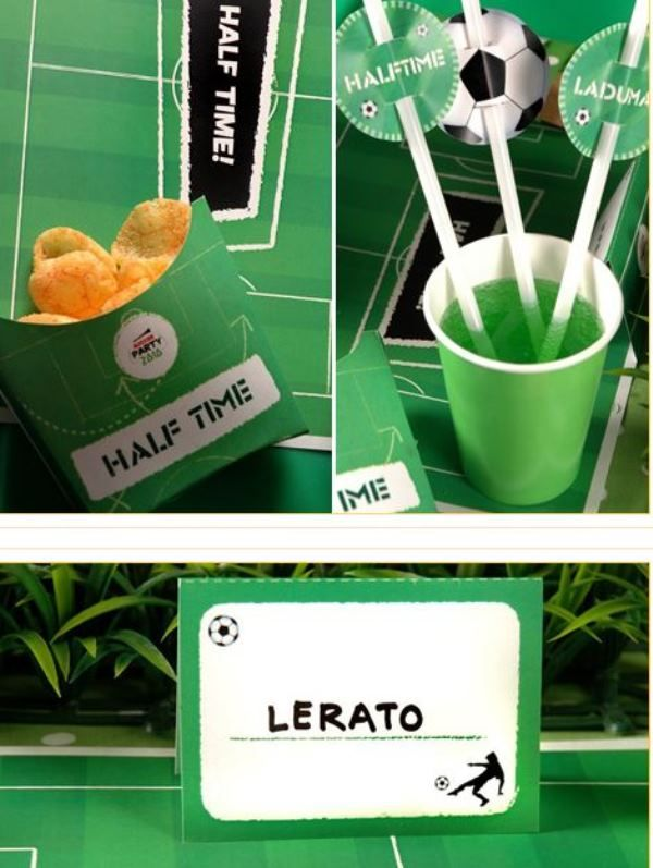 Free Soccer Party printables to rock your soccer party