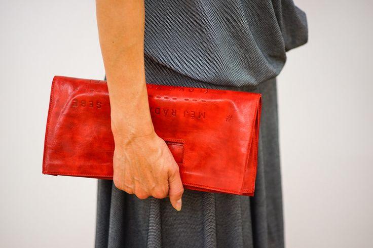 Lovely red handbag Měj ráda sama sebe - Love yourself by Lada Vyvialová IV
