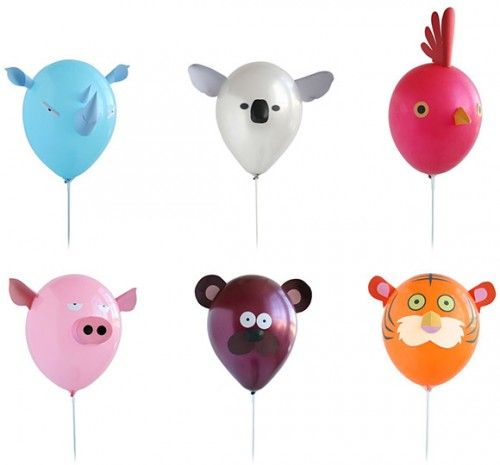 decoracion de globos para fiestas 500x465 Decoración de globos para Fiestas infantiles