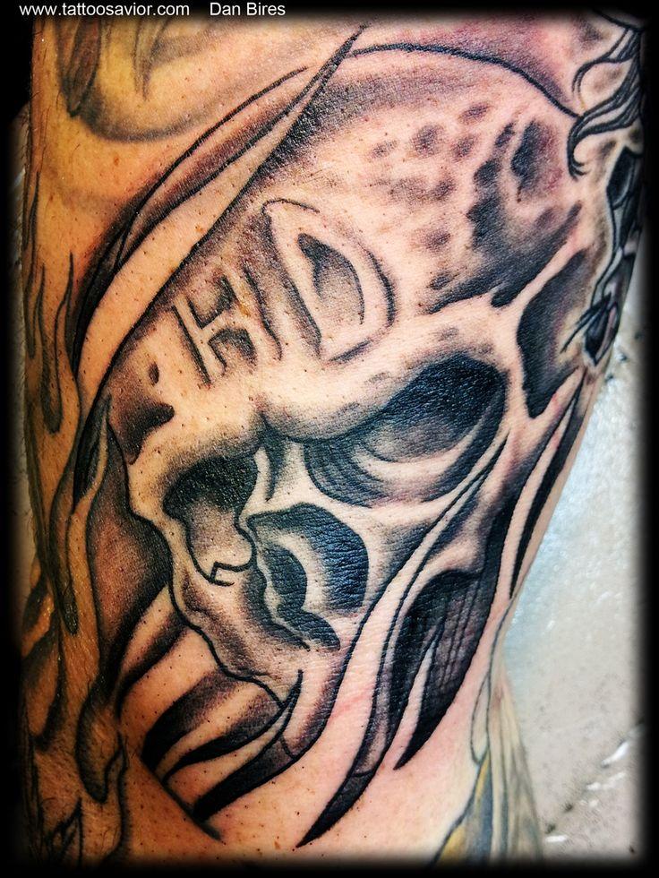 38 best chicano harley 39 s images on pinterest custom for Harley skull tattoos
