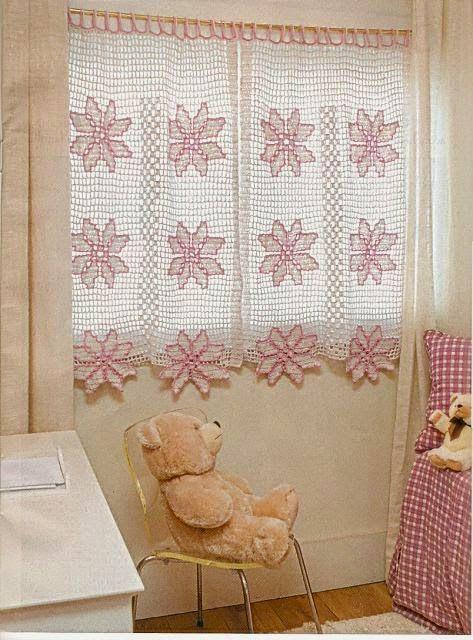 tende margherite colorate   Hobby lavori femminili - ricamo - uncinetto - maglia