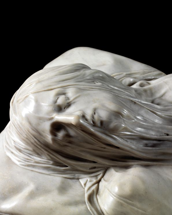 Giuseppe Sanmartino - Cristo Velato (Veiled Christ)    Cappella Sansevero, Naples