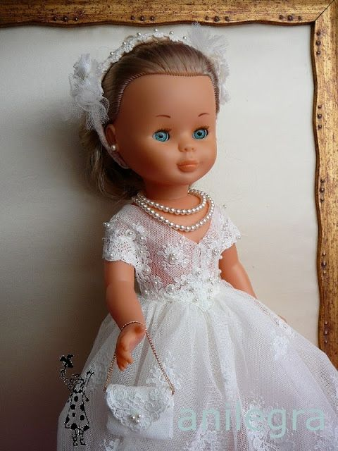 ANILEGRA COSE PARA NANCY: Vestido de ensueño para NANCY