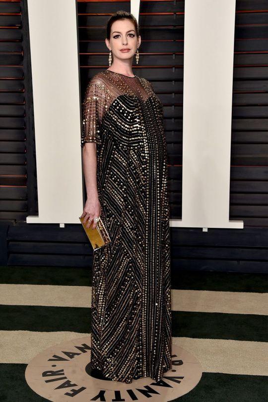 Těhotné a stále stylové hvězdy | Anne Hathaway | Marianne