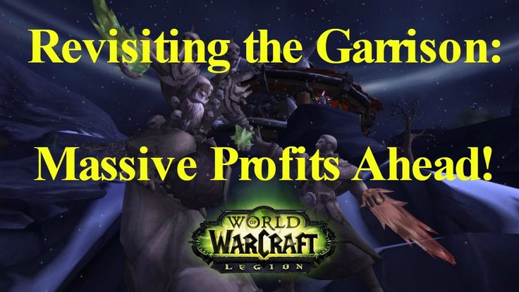 WoW Legion [Gold Guide] Revisiting the Garrison in Legion for Passive Gold Making - WATCH VIDEO here -> http://makeextramoneyonline.org/wow-legion-gold-guide-revisiting-the-garrison-in-legion-for-passive-gold-making/ -    passive income guide  Make some passive income with your old Garrisons! Although they were nerfed in Legion, as long as Hexweave Bags remain (tied for) the biggest bags, you can still make lots of gold with Garrisons! Of course, aside from making Hexweave Ba