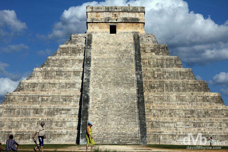 Chichén Itzá | dMb Travel - Travel with davidMbyrne.com | El Castillo/Pyramid of Kukulcan, Chichén Itzá, Yucatan Peninsula, Mexico.