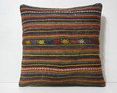 20x20 decorative pillow shams DECOLIC wholesale area rugs housse de coussin kissen 50x50  european pillows striped 14344 kilim pillow 50x50