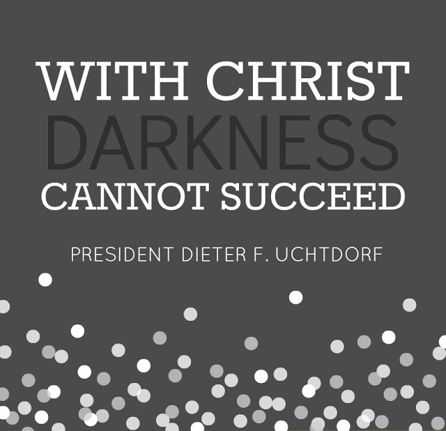 General Conference:: Sunday Session 2013.  Loved this talk!