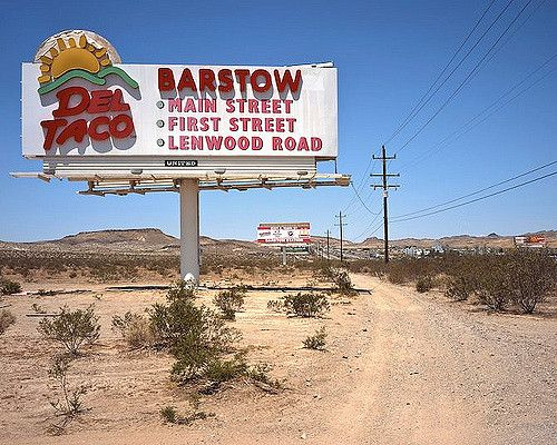 Everyone knows you go to Del Taco in Barstow! The biggest Del Taco!