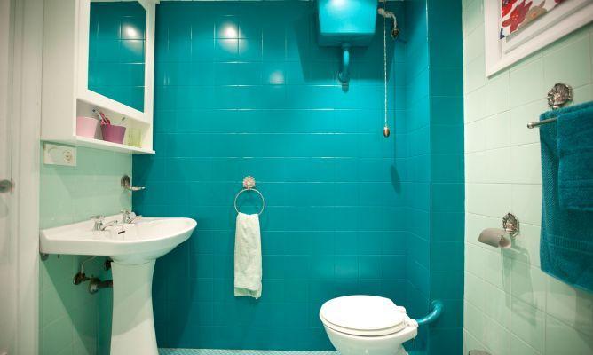 Cambio de baño #pintandoazulejos